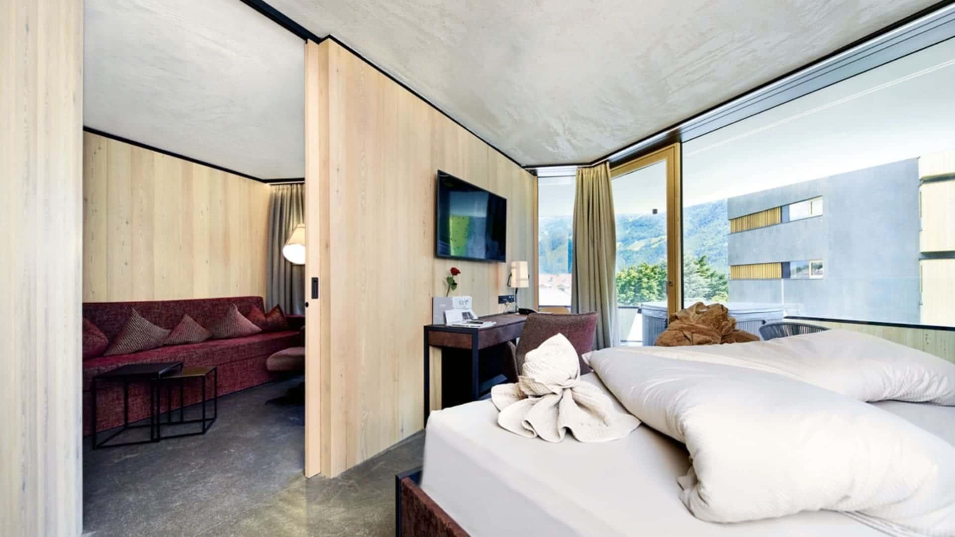 Zimmer im Lindenhof Designhotel - Meran, Südtirol