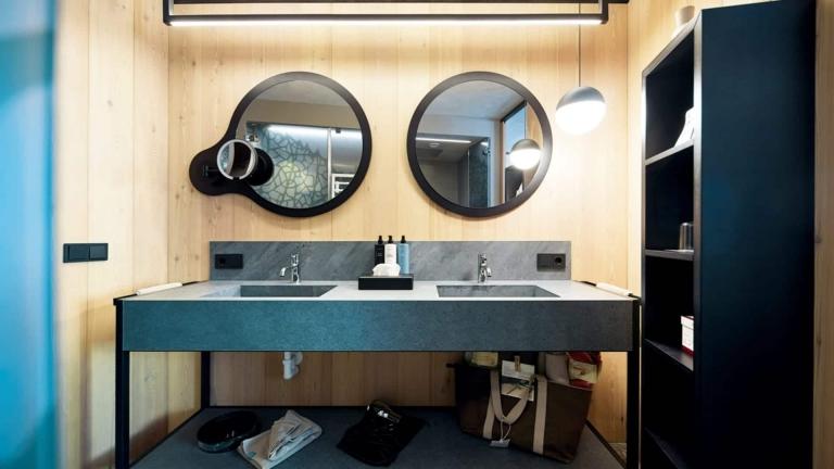 Badezimmer Relax Suite - Designhotel Lindenhof