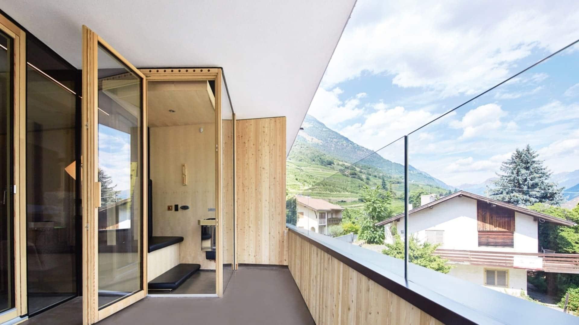 Ausblick aus dem Zimmer - Relax Suite Lindenhof