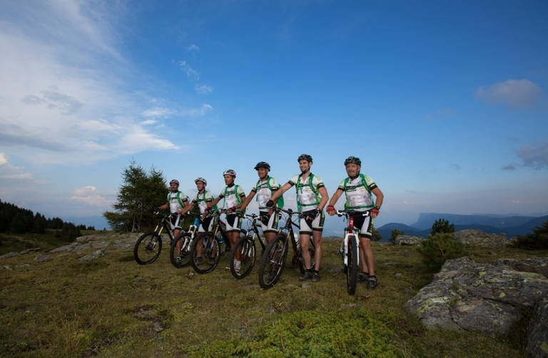 Mountainbike-Tour in Südtirol - Team Ötzibike