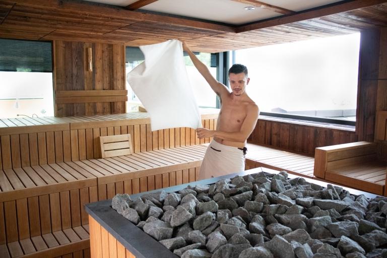Saunaweltmeister im Lindenhof