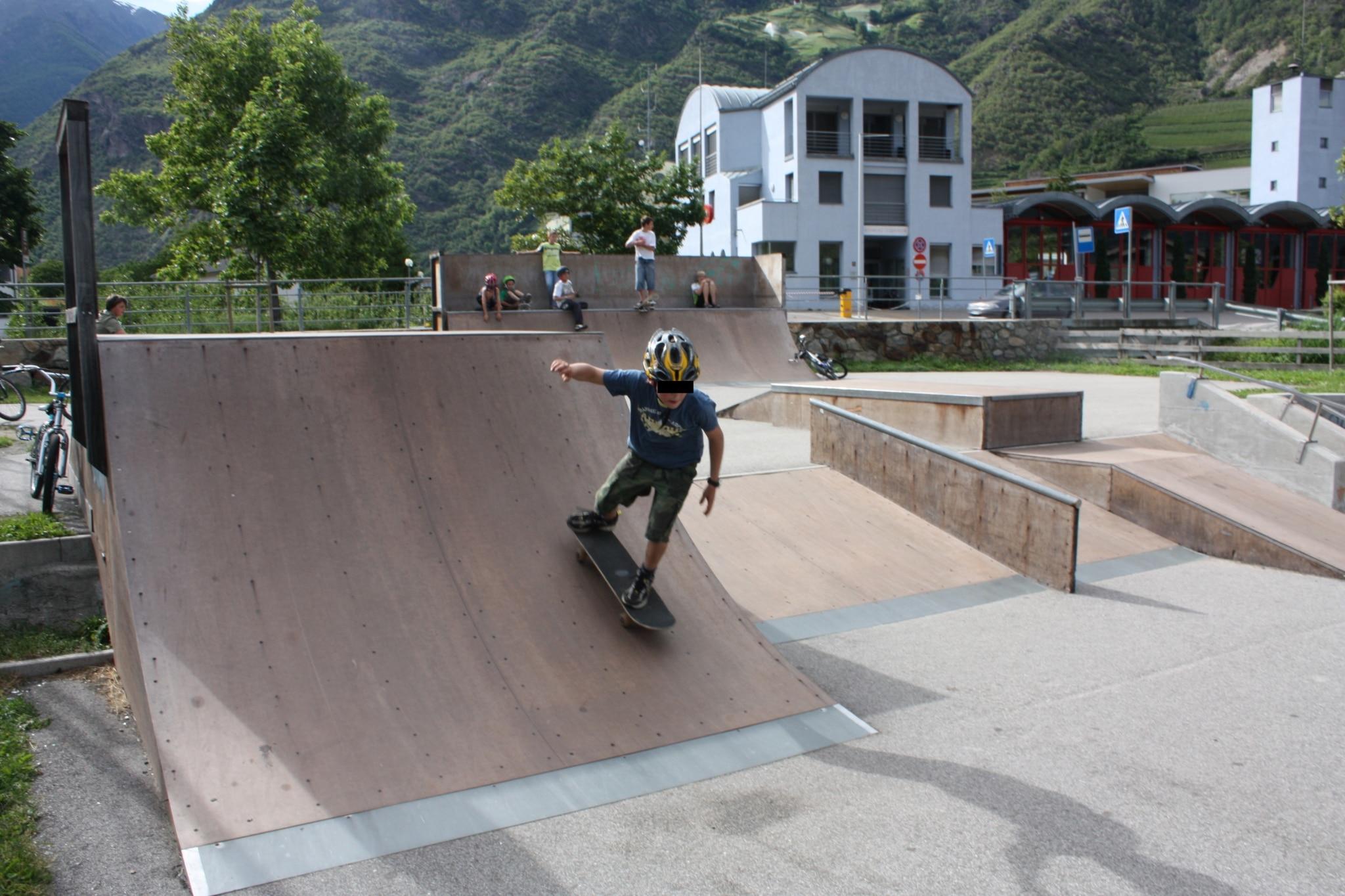 Skatepark für Kids in Meran