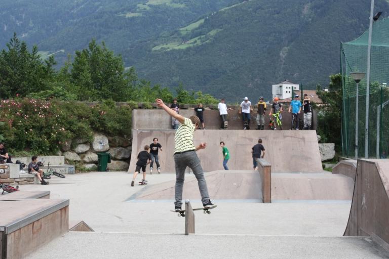 Skatepark in Naturns - Familienurlaub