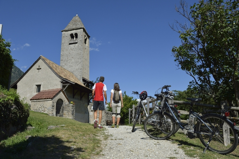 E-Mountainbike - Tour zur Prokulus Kirche