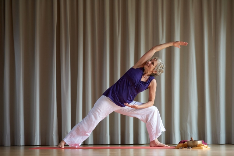 Lehrerin für Yoga