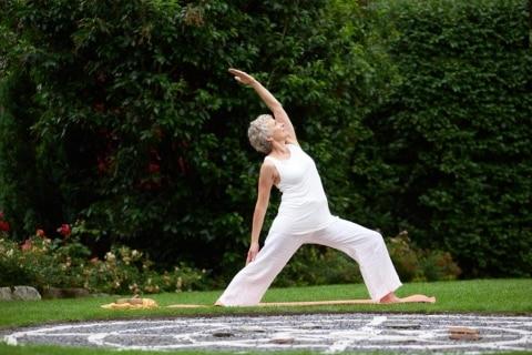 Yoga lernen im Lindenhof
