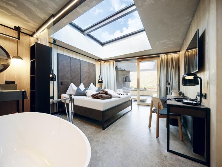 Zimmer mit Blick auf den Himmel - Lindehof