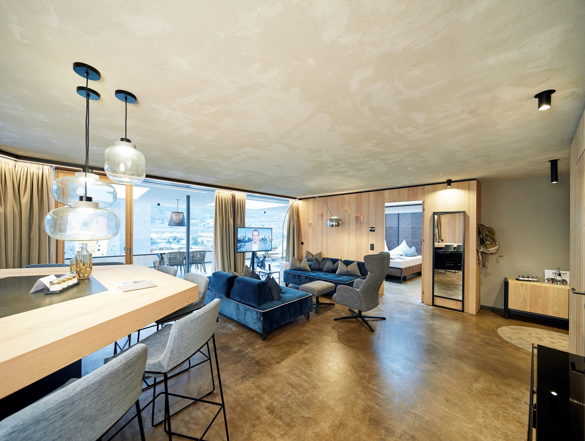 Luxus Penthouse Suite
