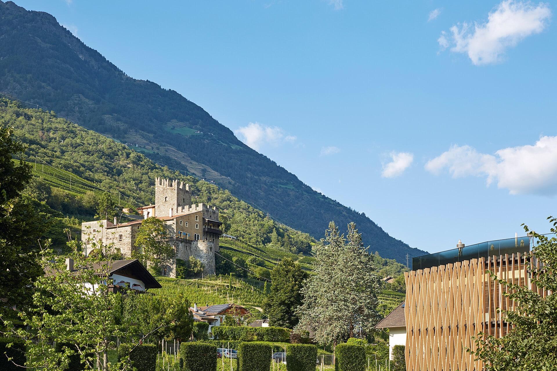 Schloss Hochnaturns in Südtirol