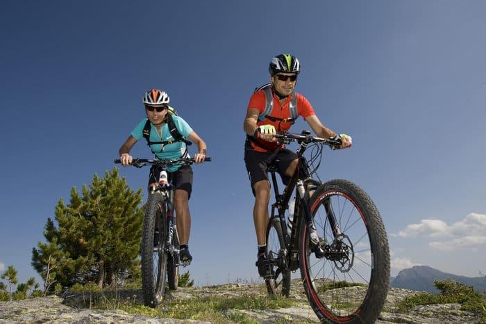 Mountainbiken in Naturns - Vinschgau mit dem Hotel Lindenhof