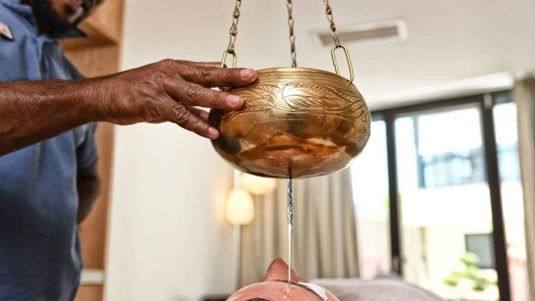 Entspannung im Urlaub - Ayurveda-Massage