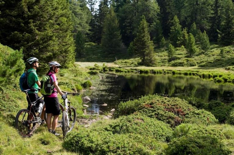 Mountainbiken in Naturns - Urlaub im Lindenhof